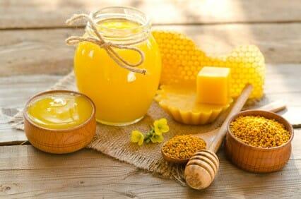 bijenwas verwerkt in Purity Herbs natuurlijke cosmetica