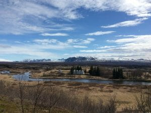Thingvellir IJsland