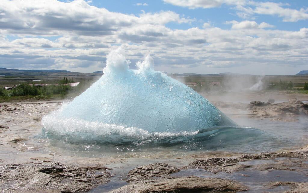 IJsland geiser
